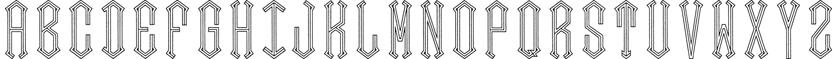 Diamond Center font
