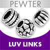 Pewter Luv Links