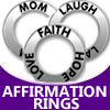 pewter affirmation rings