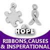 pewter ribbons and causes