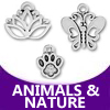 pewter animals and nature
