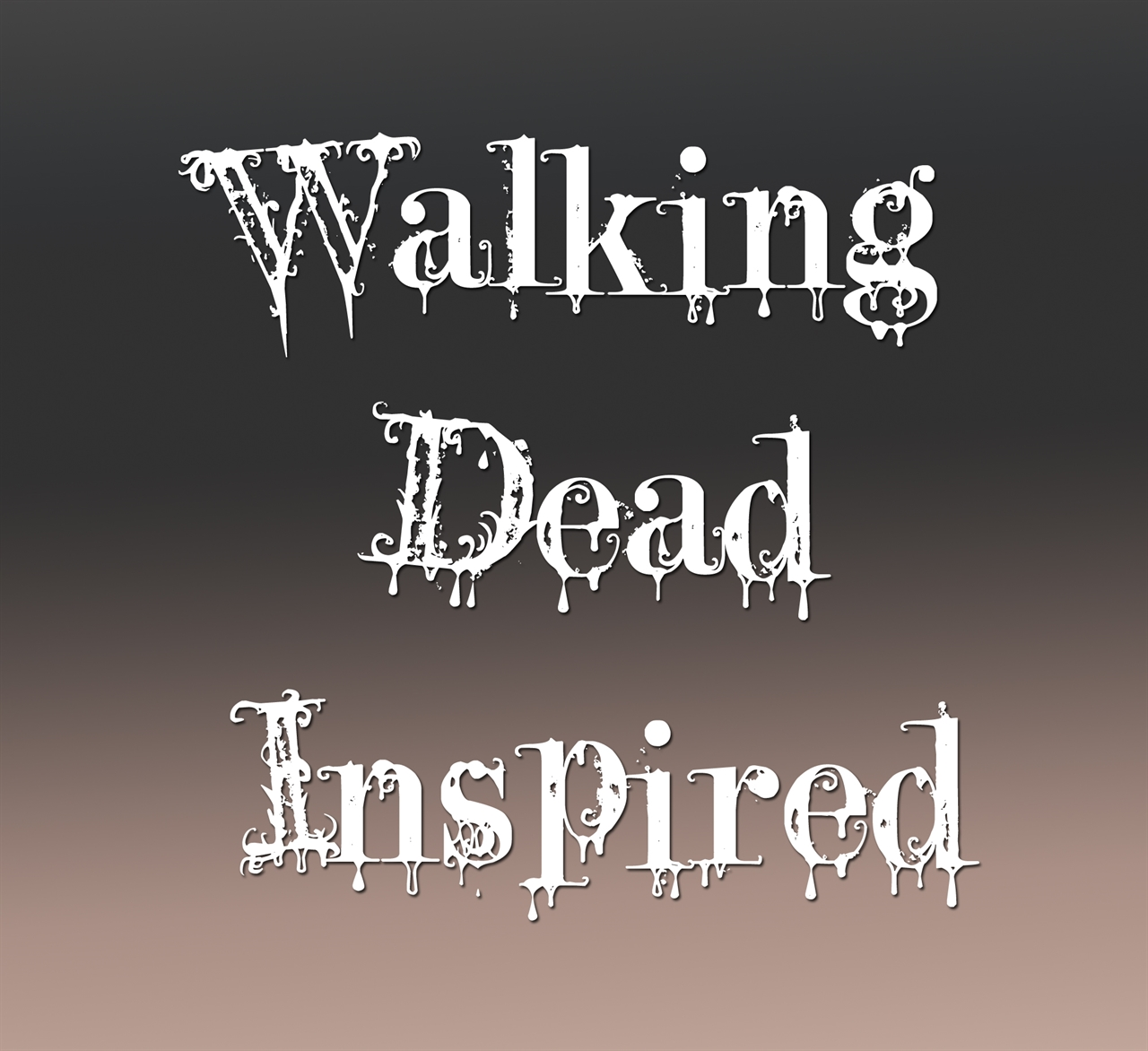 Walking Dead Inspired Sterling Silver Charms