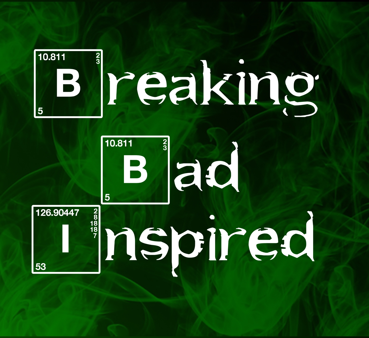 Breaking Bad Inspired Pewter Charms