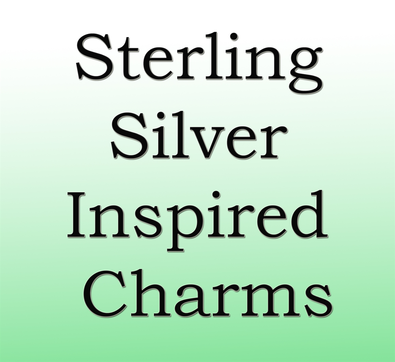 Sterling Silver Inspired Charms