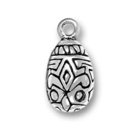 Sterling Silver Larger Easter Egg Charm