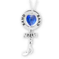 Band Mom Affirmation Necklace