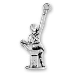 Sterling Silver Blacksmith Charm