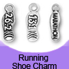 Running Shoe Charms