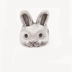 Sterling Silver Bunny Bead Pandora Inspired